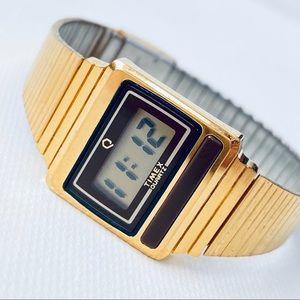 Timex Q Women's Slim Bar Digital Watch